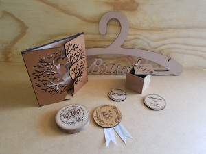 Personalized Wedding Cutouts and Engravings